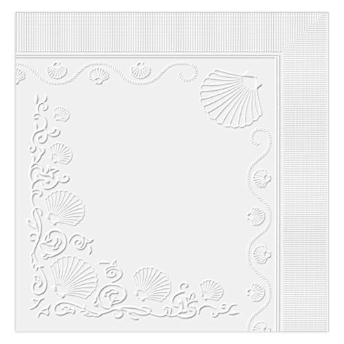 Vanity Fair Everyday Napkins, White, 660 Count