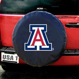 NCAA Arizona State Black Spare Tire Cover, One Size, Multicolor