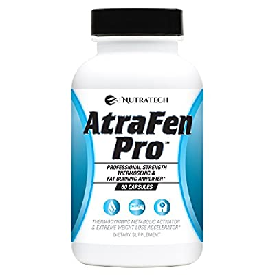 Atrafen Pro - Advanced Formula Diet Pill and Thermogenic Metabolism Booster for Hardcore Weight Loss