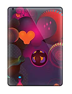 BrewerEdward Case Cover For Ipad Air - Retailer Packaging Funky Retro Abstract Protective Case