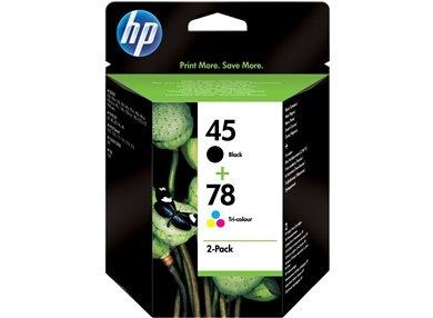 HP 45A/78D Inkjet Crtg EMEA Combo Pack ()
