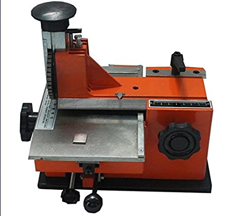 Letter Wheel For Semi-automatic Sheet Embosser Metal marking Stamping Printer my