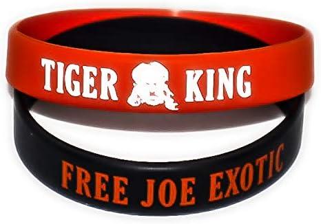 Kraze Two Joe Exotic Tiger King Bracelets