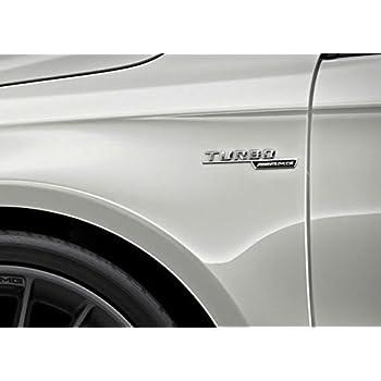 AMG Mercedes Turbo Badges Emblems A45 CLA45 GLA45 Set 2PCS Left Right