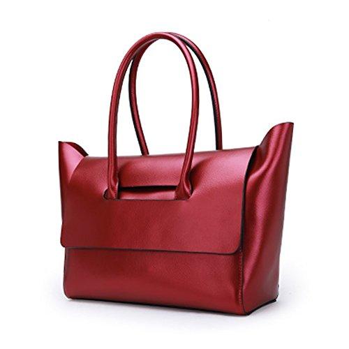 Medium para Charol mujer Rojo Valin de hombro Bolso al FA0qPA