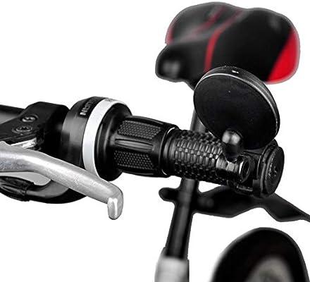 loonBonnie Pequeño Espejo retrovisor Redondo para Bicicleta de ...