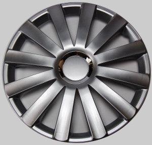 Tapacubos Revestimientos Tapacubos Spyder Pro Siver Plata 13 pulgadas juego de 4, Audi BMW