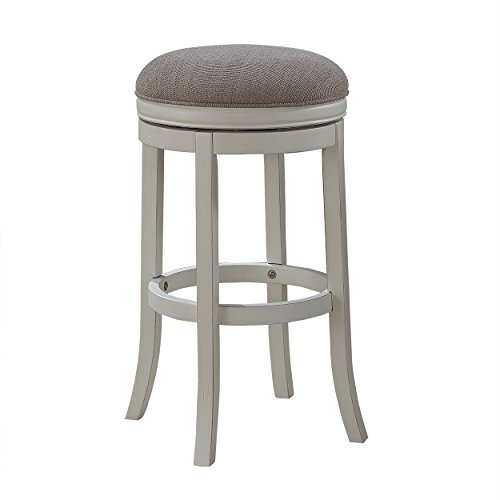 American Woodcrafters Aversa Backless Counter Stool (Stools Bar Cottage White)