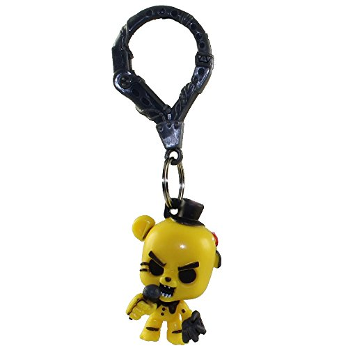 "Image of FNAF Officially Licensed Five Nights At Freddy's 3"" Figure Hangers Golden"