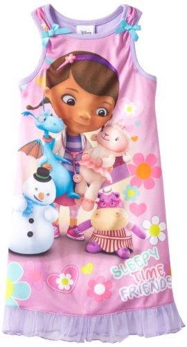 UPC 000716197896, Disney Little Girls' Sleepy Time Friends, Lavender, 5T