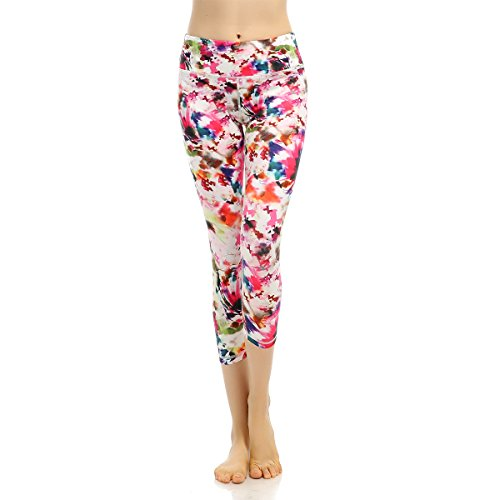 0a460106b9b Darchen-Wicking-Yoga-Capri-Pants-Women-Floral-Printed-