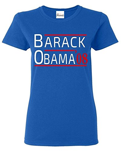 Mom's Favorite Barack Obama '08 Women's T-Shirt President Shirts