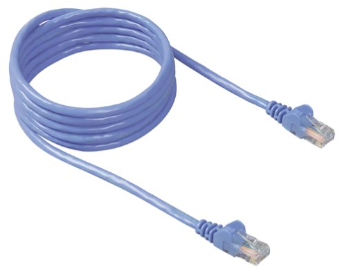 Belkin 50-Foot RJ45 CAT 5e Snagless Molded Patch Cable (Blue)