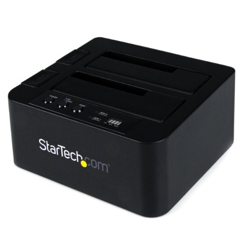 StarTech.com SATA Hard Drive HDD Duplicator Dock - eSATA USB Hard Disk Drive Duplicator - 2.5 / 3.5-Inch Hard