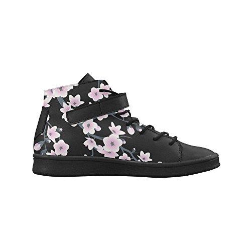 Zapatos Para Mujer De Punta Redonda Con Flores De Artsadd Cherry Boost Sneaker