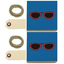 Sunglasses Shades Kraft Gift Boxes Set of 2