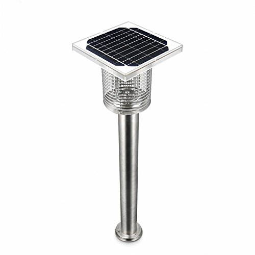 DIDIDD Outdoor Solar Mosquito Killer Household Outdoor Mosquito Killer Electronic Mosquito Repellent Mosquito Killer Mosquito,Silver