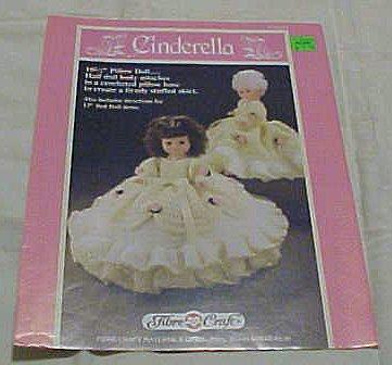 Fibre Craft Book (Cinderella FCM163 Doll Crochet Cloths 1989 (10 1/2