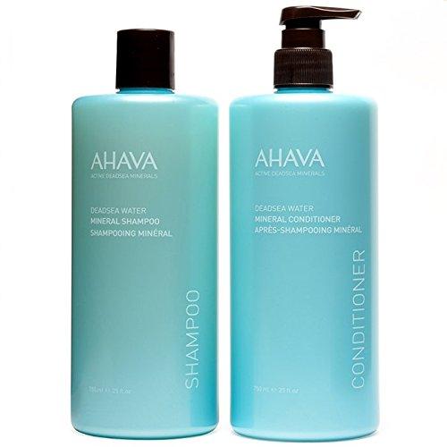 AHAVA Mineral Shampoo & Conditioner Duo, 50.0 Fl Oz