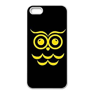 Chi Omega Black Owl iPhone 4 4s Cell Phone Case White Delicate gift AVS_727871