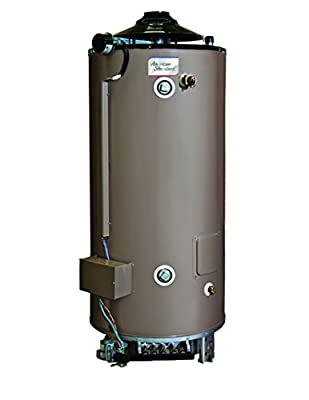 American Standard D-100-199-AS 100 gallon 199,000 BTU Heavy Duty Commercial Natural Gas Water Heater