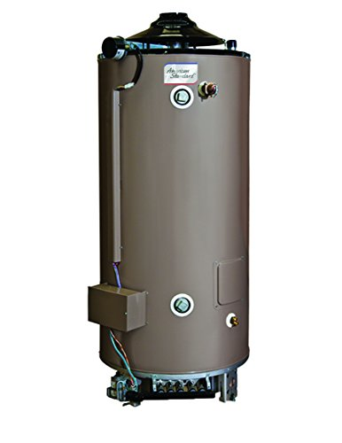 American Standard D-100-83-AS 100 gallon 83,000 BTU Light Duty Commercial Natural Gas Water Heater