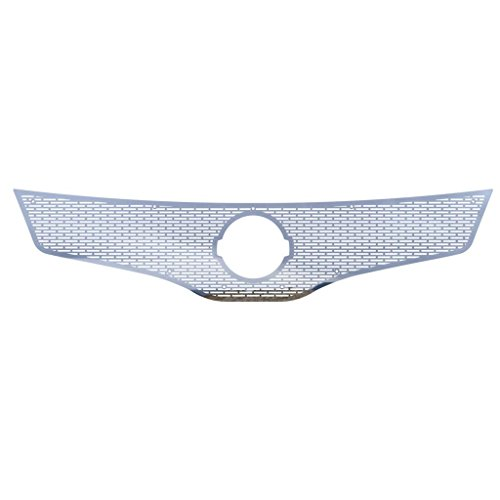 Polished Stainless Horizontal Billet Grille Grill Insert Trim fits: 2007-2009 Nissan Altima 4 Door Sedan - Ferreus Industries - TRK-160-01 (2007 Nissan Altima Chrome Grill compare prices)
