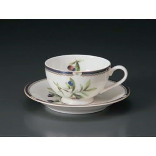 Cup And Saucer utw654-27-114 [4.6 x 3.6 x 2.2 inch 5.9 x 0.9 inch] Japanece ceramic NB Purun tea C / S tableware