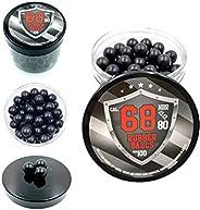 100 x Premium Quality Hard Rubber Balls Powerballs Paintballs for HDS & SG Pistols in 68