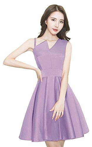 Vimans -  Vestito  - linea ad a - Donna Purple3 46