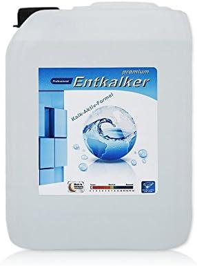 5 litros Professional Premium descalcificador en bidón (flüssigent antical), adecuado para cafeteras automáticas como de Delonghi, Jura, Siemens, Saeco, Senseo, Krups, etc.).: Amazon.es: Hogar