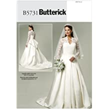 Butterick Patterns B5731 Misses' Dress, Size A5 (6-8-10-12-14)