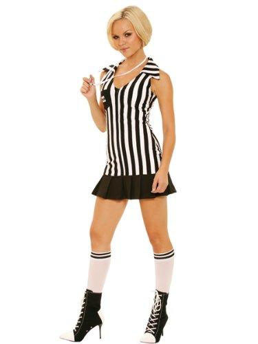 Women's Umpire Costume (Referee Medium Size 6-10)
