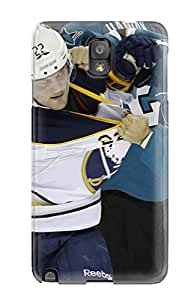 Snap-on San Jose Sharks Hockey Nhl (17) Case Cover Skin Compatible With Galaxy Note 3