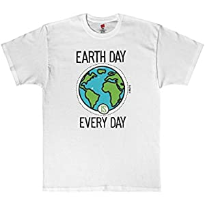 No Limits T-Shirts Earth Day is Every Day Tagless T-Shirt