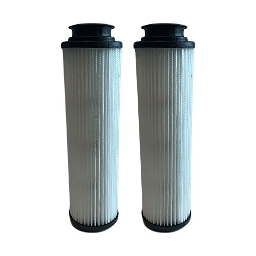 Filter Hepa Vacuum 40140201 Replacement (2 Replacements for Hoover Windtunnel Bagless HEPA Style Filter Fits Empower & Savvy, Compatible With Part # 40140201, 43611042 & 42611049, Washable & Reusable, by Think Crucial)