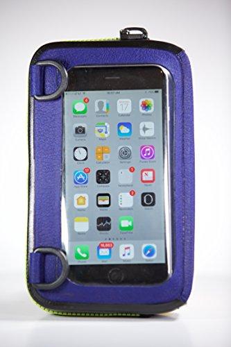 ugo - Floating Waterproof Dry Bag & Universal Phone Case - Blue | Green