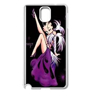 Good Quality Phone Case With HD Betty Boop Images On The Back , Perfectly Fit To Samsung Galaxy Note 3
