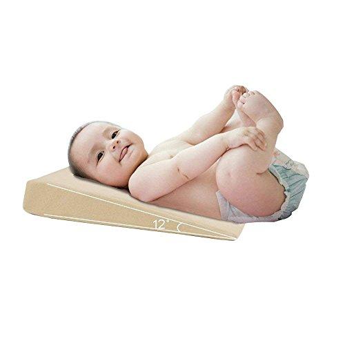 Sleeper Co Universal (NineSi Baby Crib Pillow Universal Memory Foam Crib Wedge Safe Lift Baby Mattress Infant Reflux Reducer and Nasal Congestion Reducer)