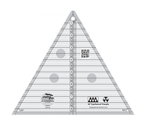 Creative Grids 60 Degree Equilateral Triangle 8