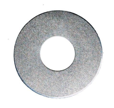 RMP Stamping Blanks, 3/4 Inch Washer with 3/8 Inch Center Hole, 0.063 Inch (14 Ga.) Aluminum - 50 - Washer Stamping