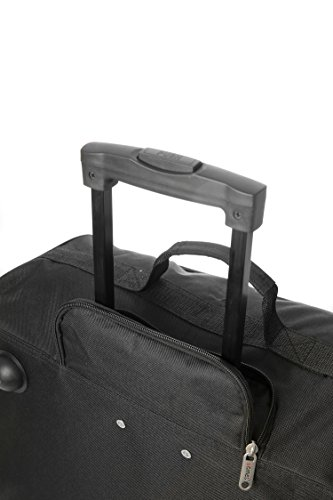 8096277fb 5 Cities easyJet, British Airways, Jet2 Maximum Cabin Approved Trolley Bag  Hand Luggage, 56 cm, 60 L, Black (Black Easyjet 56cm)