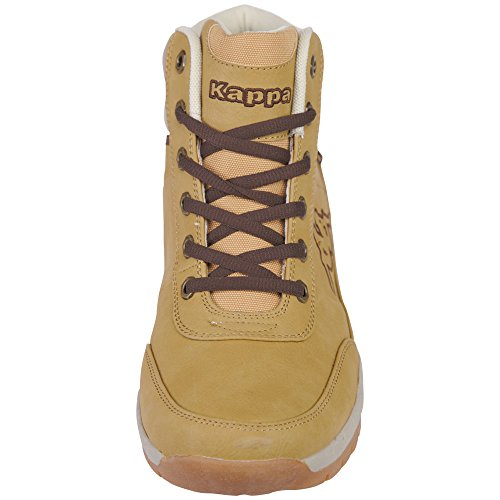 Combat Beige Mid Bright Kappa Beige Stivali 4141 Adulto Unisex Light wxqU7g0IS
