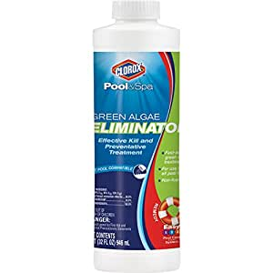 CLOROX Pool&Spa 42032CLX Algae Eliminator, 1-Quart