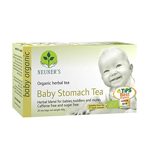 Neuner's Baby Stomach Tea | Organic Baby Stomach Tea | for Babies, Toddlers and Mums (20 Tea Bags)