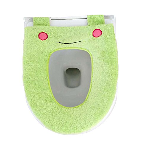 DRAGON SONIC Lovely Cartoon Toilet Seat Cushion Waterproof Cover/Toilet Pad-Frog/G -