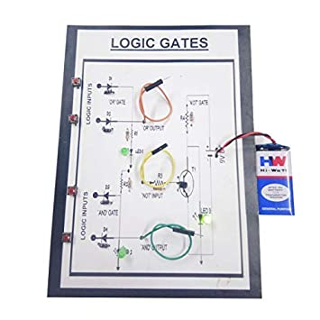 Buy Melody's Logic Gates Combine Model- All Basic Gates and, OR, NOT