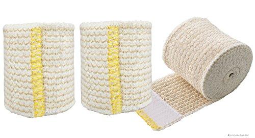 NexSkin Cotton Elastic Bandages w/Hook and Loop Closure, 2