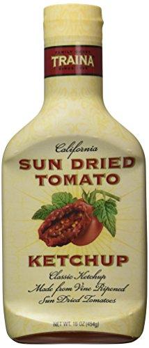 Traina Sun Dried Tomato Ketchup, 16 Ounces