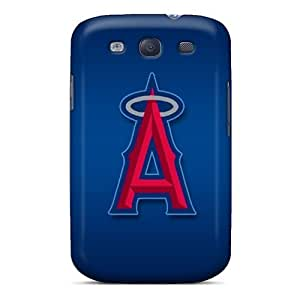 CharlesPoirier Samsung Galaxy S3 Anti-Scratch Hard Cell-phone Cases Support Personal Customs High-definition Los Angeles Angels Image [EFJ779FPdS]